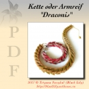 "Anleitung  Kette und Armband ""Draconis"""