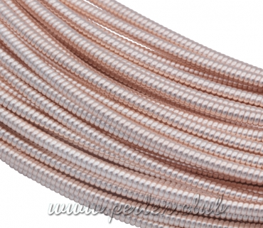 Hart French Wire 1mm, Rosa Gold