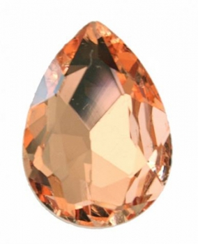 Tropfen 14x10mm, Rose peach