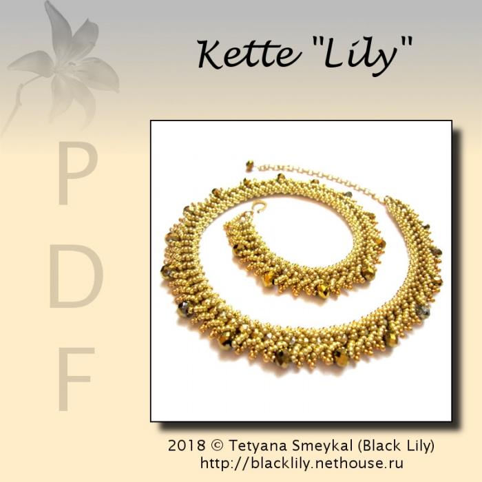 "Anleitung Kette ""Lily"""