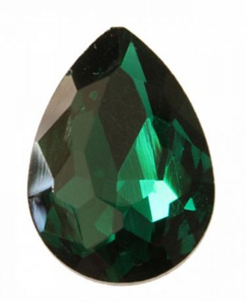 Oval 18x13mm, Emerald